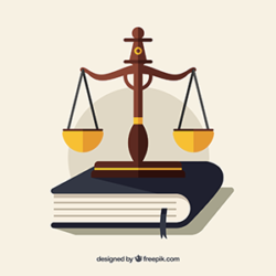 Visuel justice (fait par Freepik)